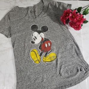 Disney Mickey Mouse Short Sleeve Tee Medium